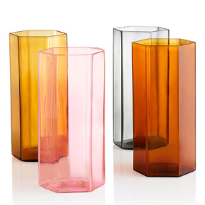 maison balzac coucou glass tall - amber