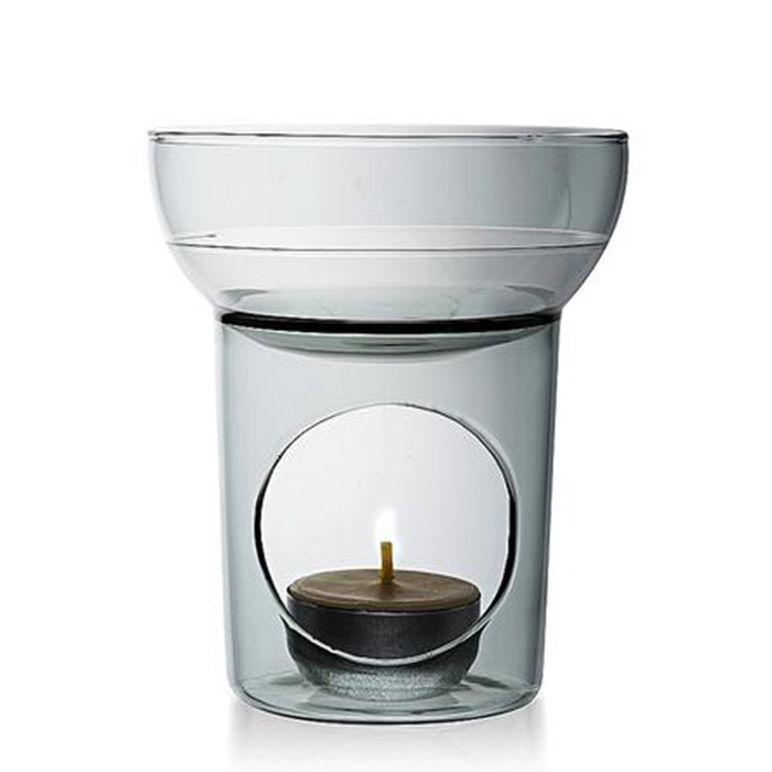 maison balzac oil burner - smoke