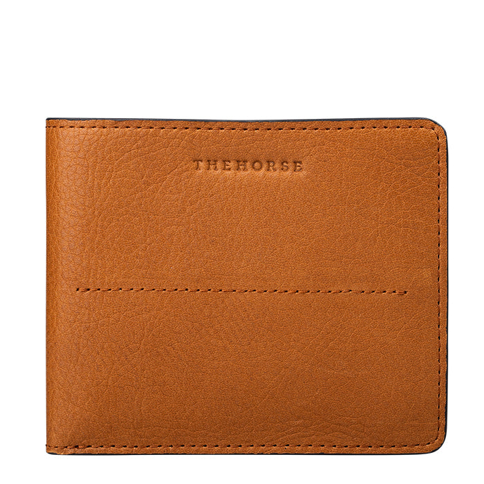 the horse barney leather wallet - tan