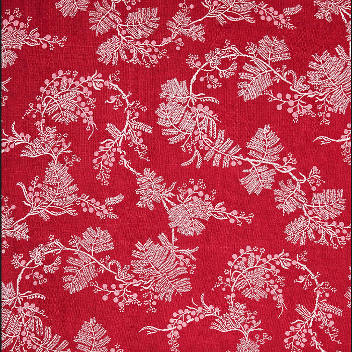 utopia goods - fabric wattle pink raspberry