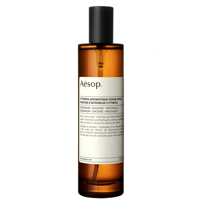 aesop home - aromatique room spray cythera