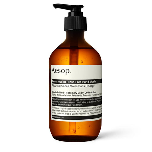 aesop - resurrection rinse-free hand wash 500ml