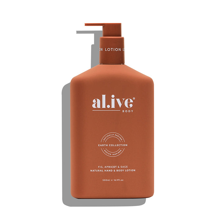 al.ive body -  fig, apricot & sage hand & body lotion