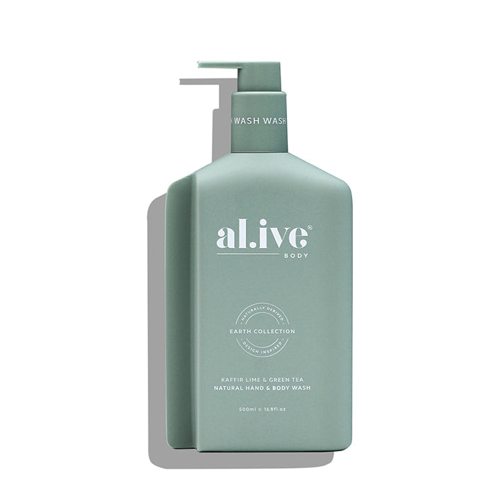 al.ive body -  kaffir lime & green tea hand & body wash