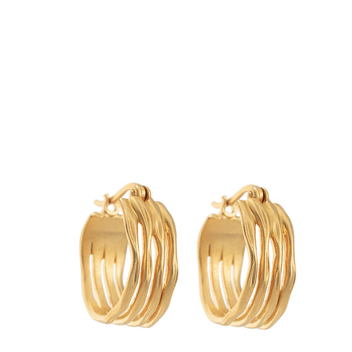 kirstin ash botanica hoops - gold - set