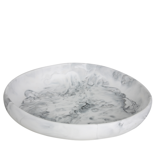 dinosaur designs earth bowl - white marble - large
