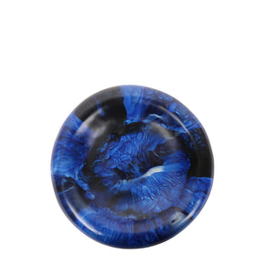 dinosaur designs mother of pearl dish medium - lapis