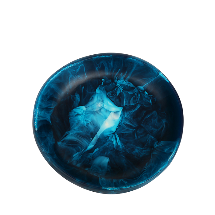 dinosaur designs earth bowl - moody blue - small