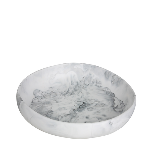 dinosaur designs earth bowl - white marble - small