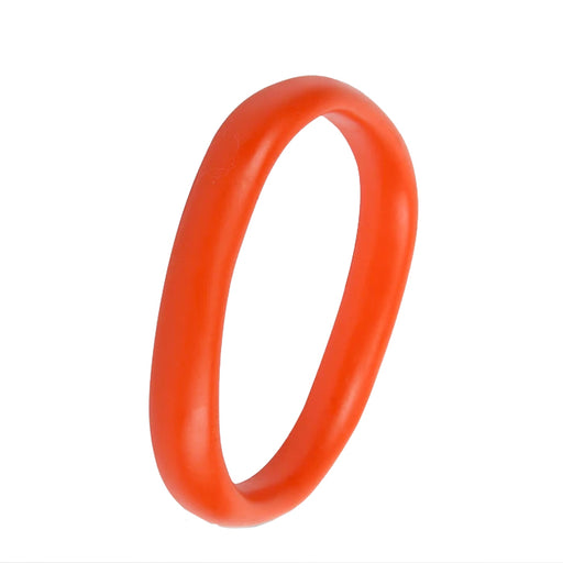dinosaur designs classic wishbone bangle - coral