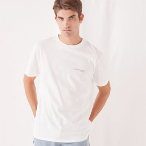 assembly label - genesis tee - antique white