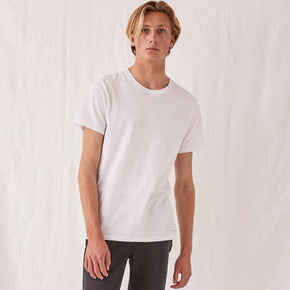 assembly label - standard tee - white