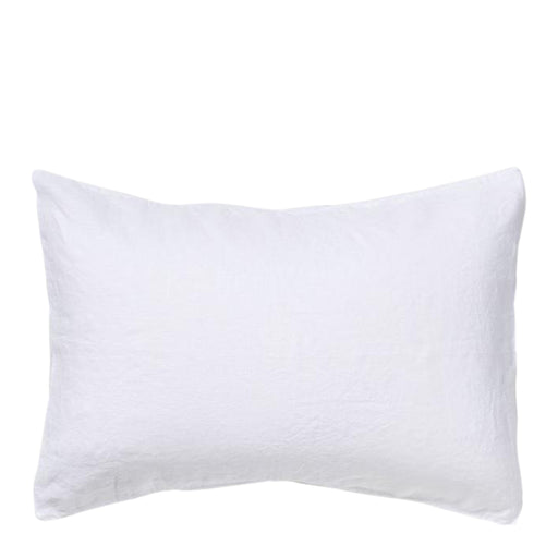 carlotta + gee - standard pillowslip set - white