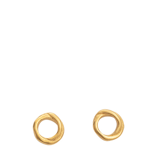 kirstin ash infinite studs - gold - set