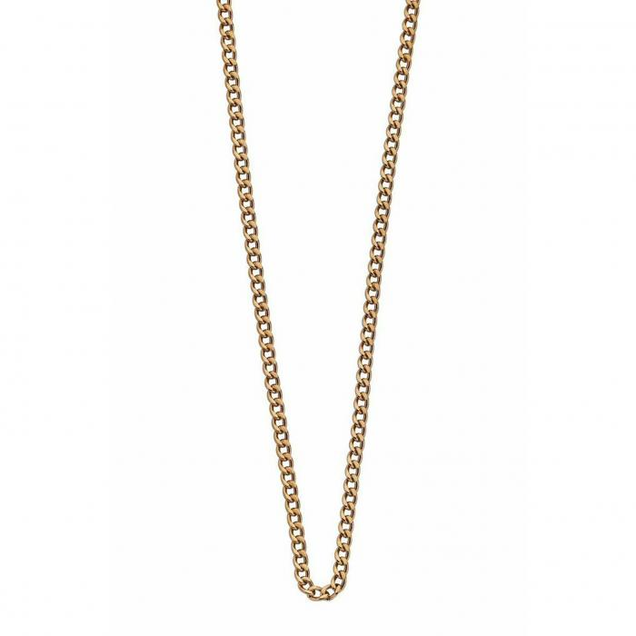 kirstin ash link chain - silver, gold or rose gold