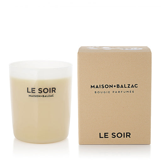 maison balzac candle - le soir large & mini