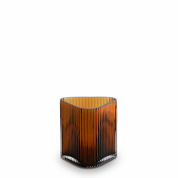profile vase - coffee - small