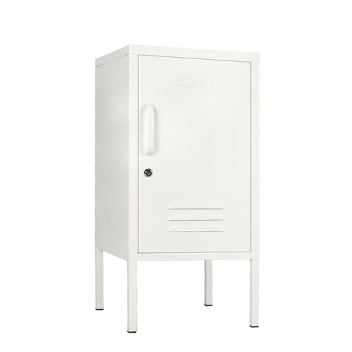 mustard made locker - 'the shorty' white