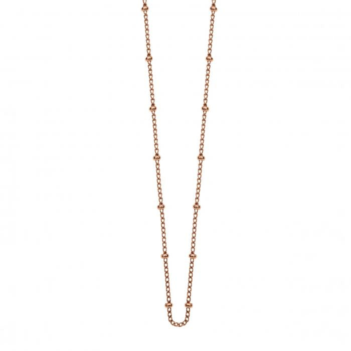 kirstin ash ball chain - silver, gold or rose gold