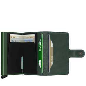 secrid miniwallet - original green