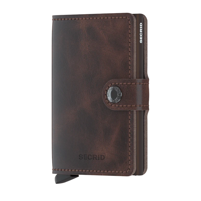 secrid miniwallet - vintage chocolate