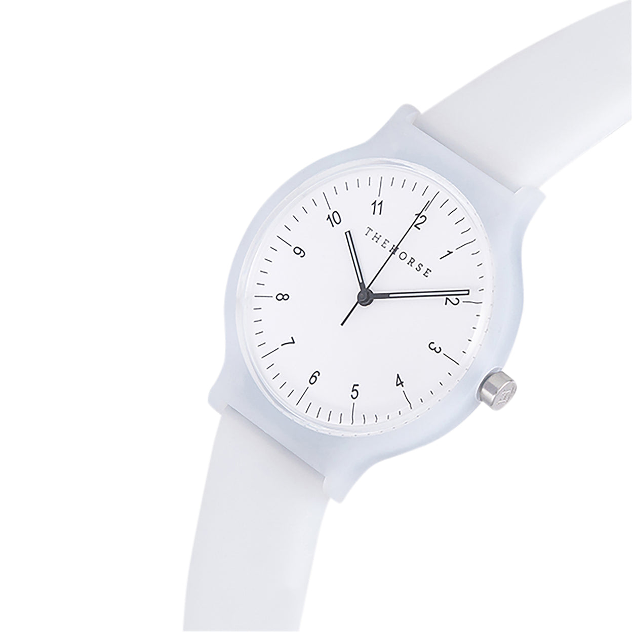 the horse watch blockout - white