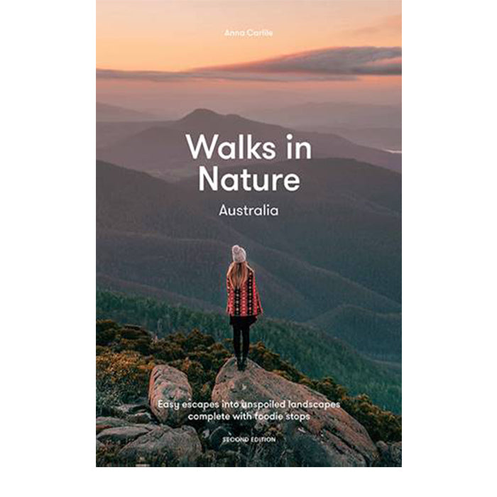 walks in nature australia – anna carlile - PRE ORDER
