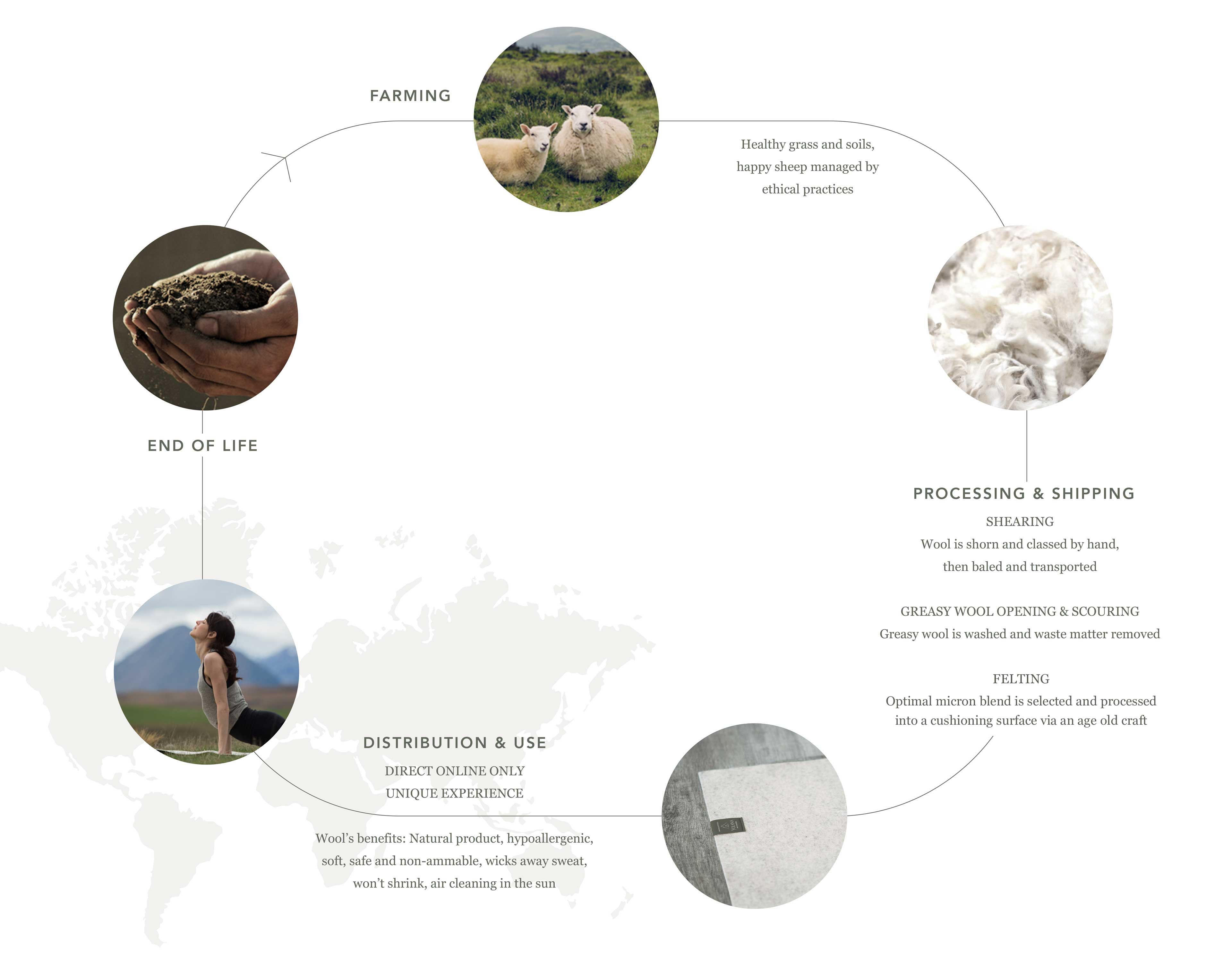 Why Wool Lifecycle Diagram