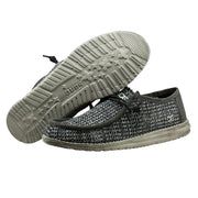 Wally Sox Perforated Black Grey