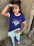 Girls Pronghorn Camp Ringer Tee