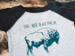 Where the Wild Things Are - Buffalo Onesie