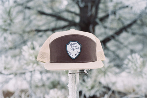Idaho Ranger Patch 7 Panel Snapback