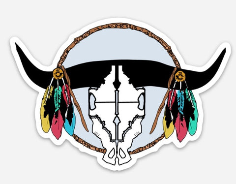 Idaho Bull Sticker