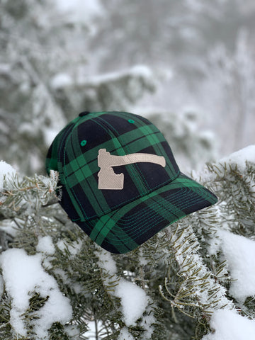 Iron Pine Idaho Axe Green Plaid