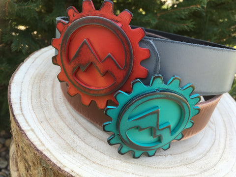 Mountain Biking Gear Buckle
