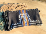 Western Print Clutch in Pendleton Wool