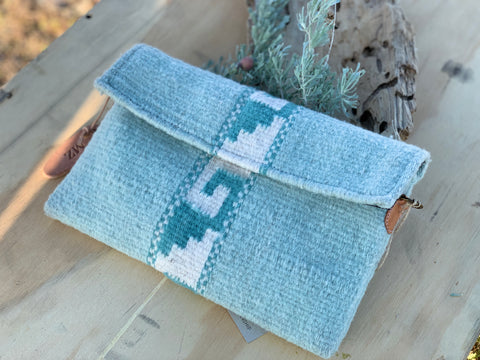 Blue Skies Crossbody Clutch