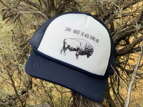 Where The Wild Things Are Buffalo Foam Trucker
