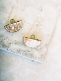 Sarah Safavi Basin Agate Earrings -SALE
