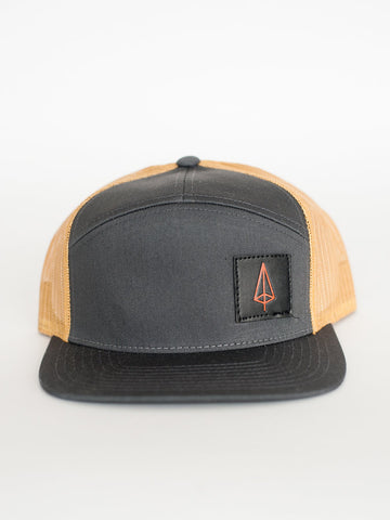 Iron Pine Classic Black Patch
