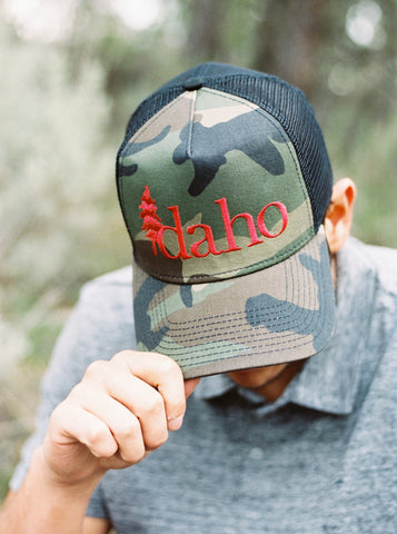 Men's  Idaho Camo Snapback