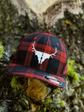 Idaho Elk Antler Plaid Flexfit