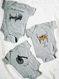 Where the Wild Things Are  - Classic Buffalo Onesie