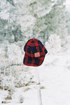 Iron Pine Leather Patch + Plaid