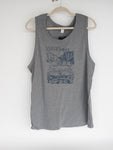 Celebrate Idaho 1890 Salmon Men's Grey Tank