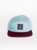 Iron Pine leather patch classic strapback