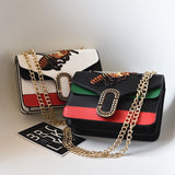 Luxury Leather Designer Famous Brands Bee Crossbody Bags For Women.