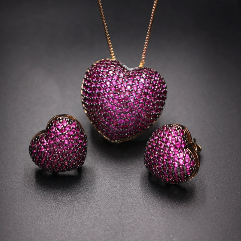 Fashion Jewelry Sets For Women Charm Party Jewelry.
