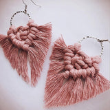 Leaf Tassel Drop Dangle Earrings Hot Sale Spring Summer Boho Vintage jewelary.