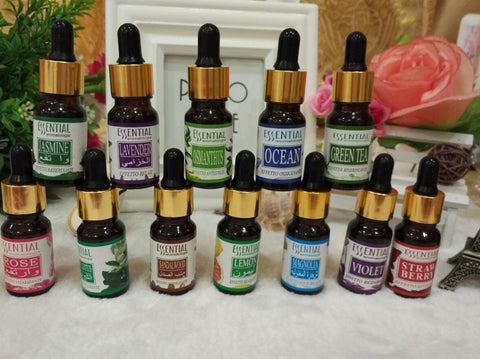 Assorted Aromatherapy oils(10 ml)